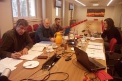 Third project meeting.  České Budějovice, January 2020.