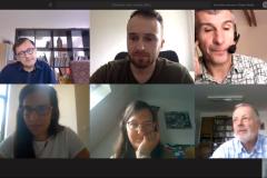 Online project meeting in June 2020.